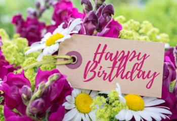 faire livrer des fleurs pour un anniversaire